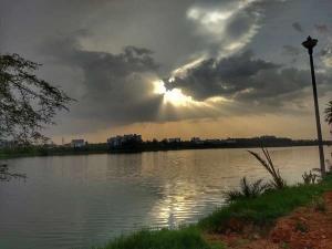 Two-hundred-year-old Jakkur Lake