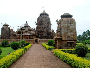 Brahmeswara Temple In Bhubaneswar Splendidly Carved And Richly Designed