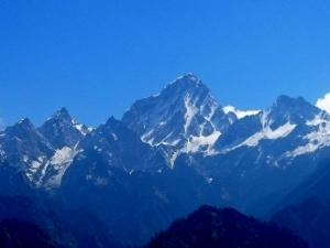 Om Parvat A Himalayan Peak Etched With The Most Sacred Word In Hinduism