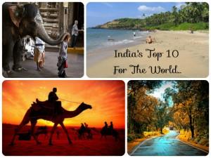 Top Tourist Destinations India