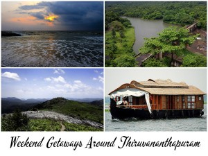 Weekend Getaways Around Thiruvananthapuram