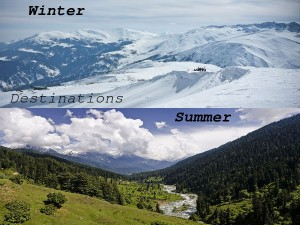 Winter Summer Destinations India