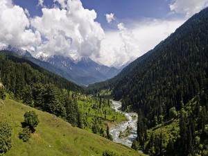 Lidder Valley In Jammu Kashmir