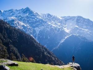 Triund Hill In Himachal Pradesh