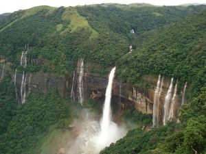 Popular Waterfalls In Assam