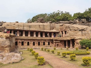 Udayagiri Khandagiri Caves Near Bhubaneshwar