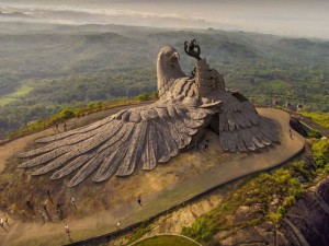 Atayu Nature Park Jatayu Earth Center World S Largest Bi
