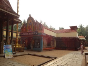 The Abode Of Janardhana Swamy At Varkala