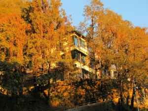 The Cantonment Town Of Landour