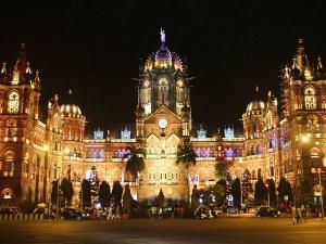 Inside Chhatrapati Shivaji Terminus