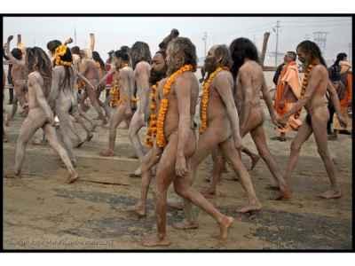 Image result for kumbh mela nudity