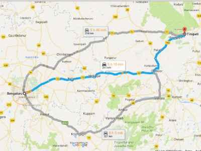 Bengaluru To Tirumala: A Spiritual Weekend Drive - Nativeplanet