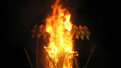 This Dussehra Witness The World's Tallest Effigy Of Ravana In Haryana
