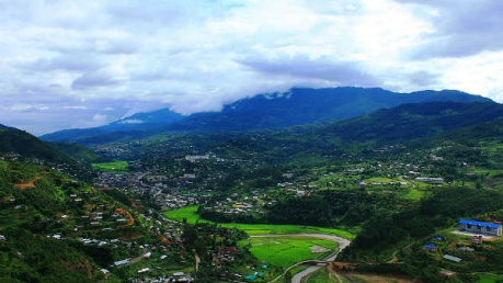 The Quaint Town Of Senapati In Manipur And Its Striking Spots