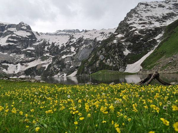 Best Trekking Destinations Near Srinagar Harmukh Peak Trek