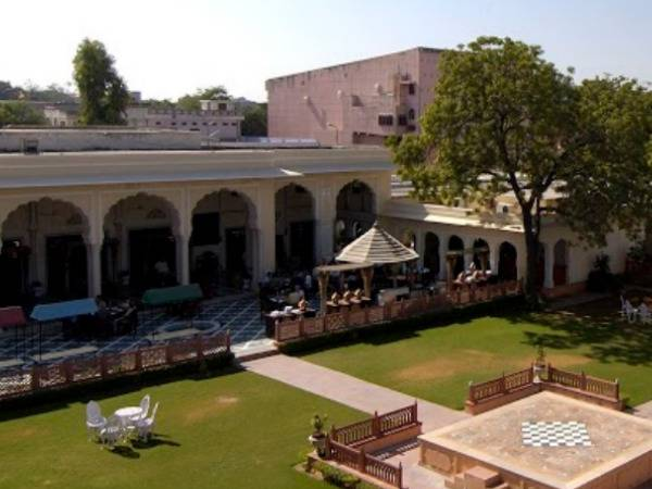 New Ballroom At Raj Palace Hotel In Jaipur