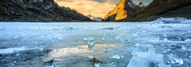 A Frozen River Trek In Ladakh Which Is Not Chadar