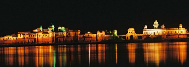 Melaghar – A Small Village With A Lake Palace