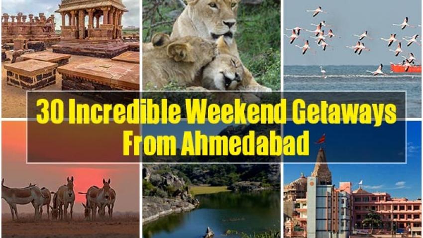 Weekend Getaways From Ahmedabad