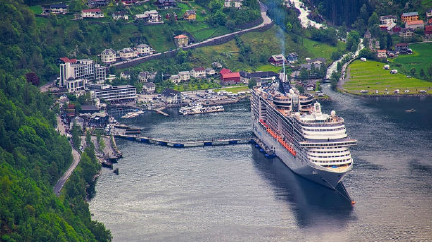 Cruise Ship: A Floating Town Of Laid-Back People