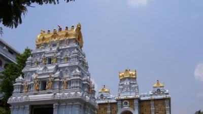 इस्कॉन भगवान कृष्ण मंदिर