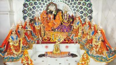 श्री राधा रास बिहारी अष्ट सखी मंदिर