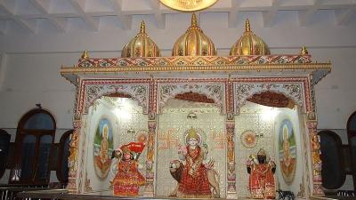 കാളീ മന്ദിര്, സേവോകേശ്വരി
