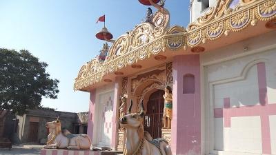 राधा कृष्ण मंदिर, मेहम