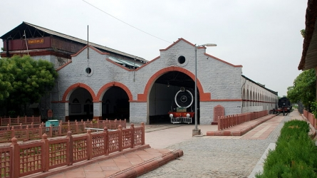 Rewari Heritage Steam Locomotive Museum