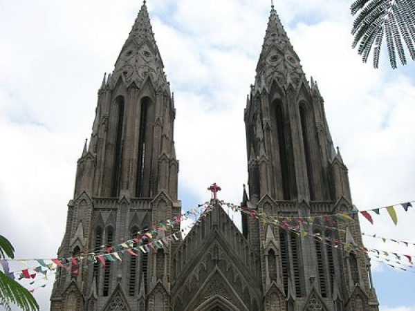 Mysore photos, St. Philomena's Church
