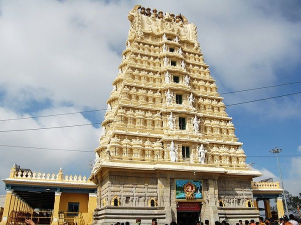 Mysore photos, Chamundi Hills - A Distant View