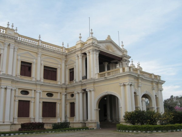 Mysore photos, Jayalakshmi Vilas Mansion - A Side View