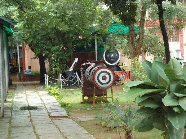 Mysore photos, Rail Museum - Boiler of a Train Engine