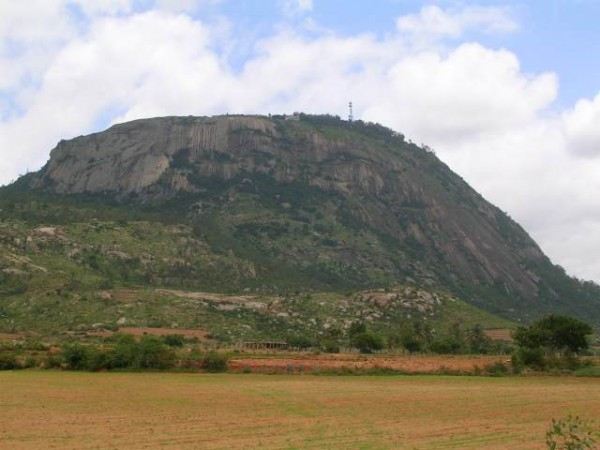 Nandi Hills Photos - The Hill From A Distance