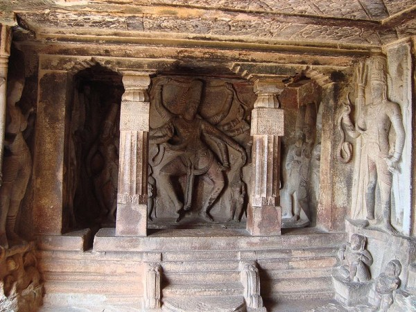 Aihole photos, Ravana Phadi - Carvings