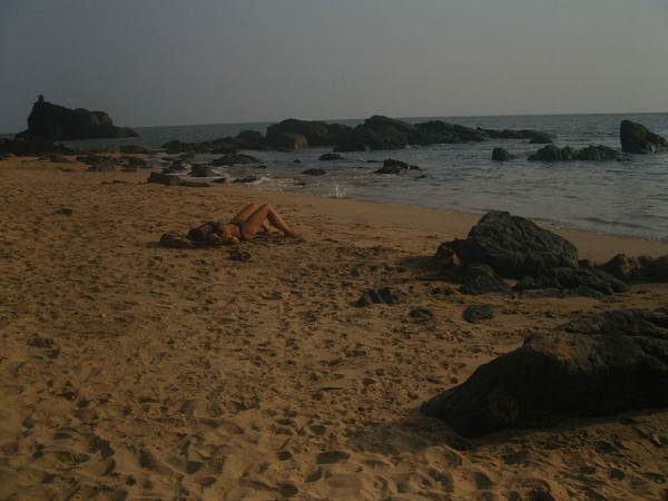Gokarna Photos - Sun Bathing