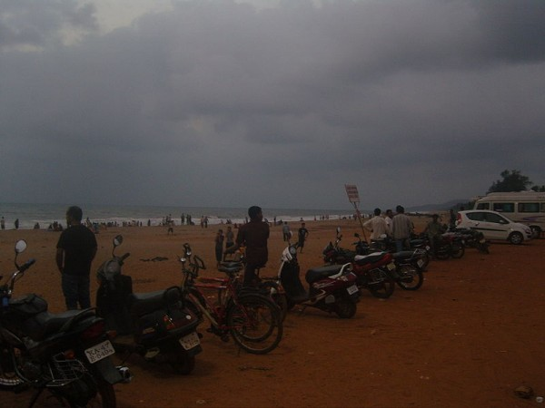 Gokarna Photos - Vehicles On The Beach Coast