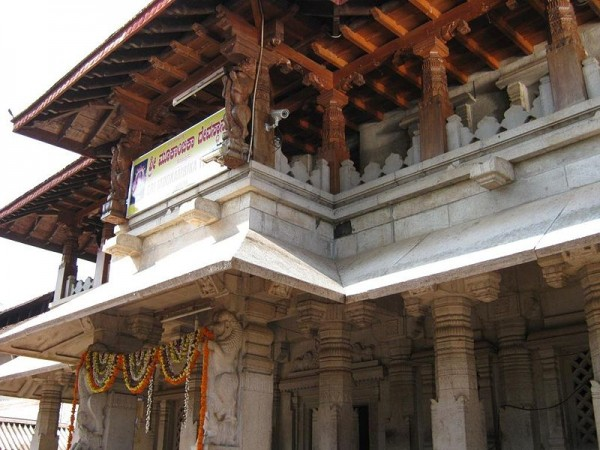Kollur photos, Mookambika Temple - A Side view