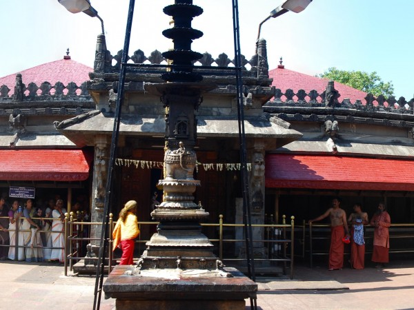 Kollur photos, Mookambika Temple - Front view
