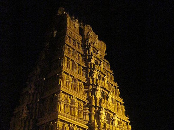 Nanjangud photos, Nanjundeshwara Temple/Srikanteswara - A Night View