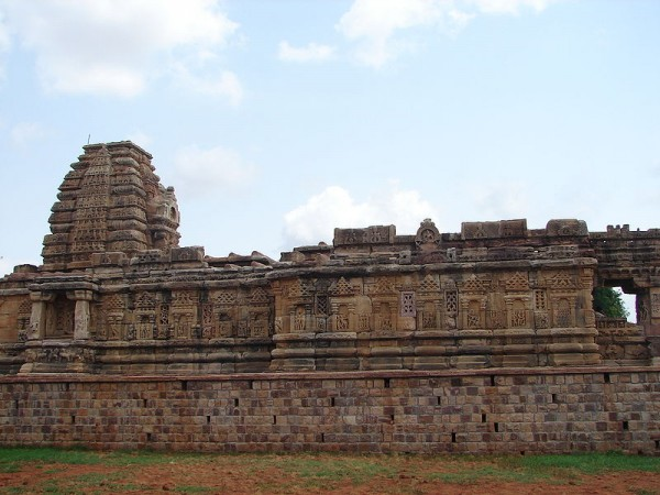 Pattadakal photos, Papanatha temple