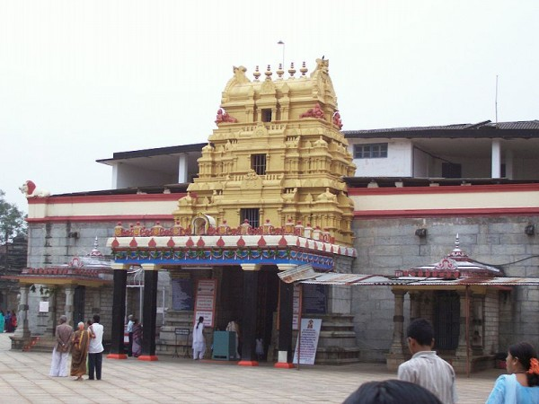 Sringeri Photos - Sarada Temple - Front View