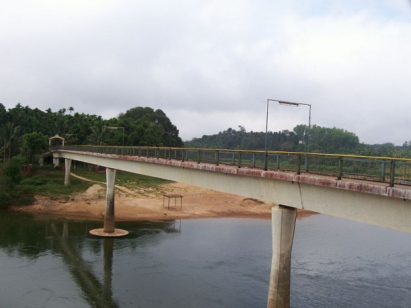 Sringeri photos, A bridge