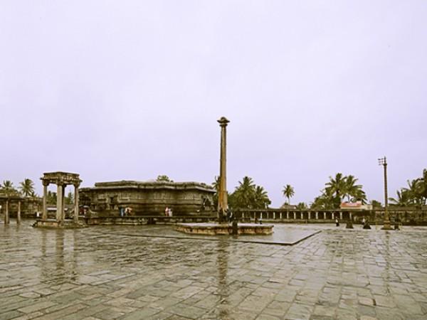 Belur photos, Chenna Kesava Temple - A Distant view