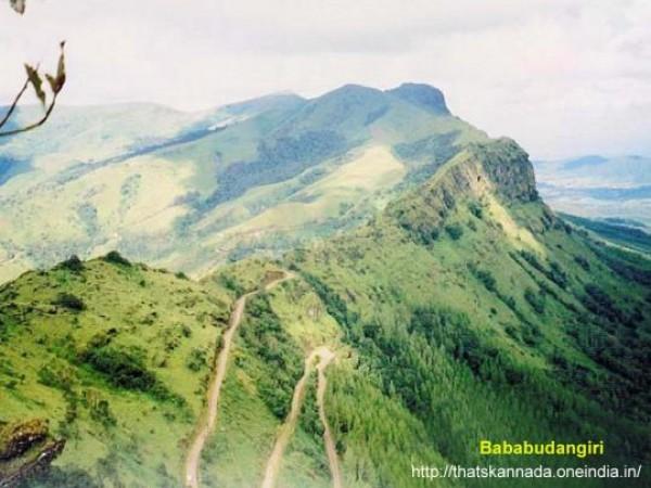 Chikmagalur photos, Baba Budan Giri - On A Sunny Day
