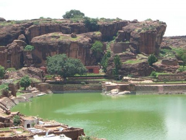 Badami Photos - Beautiful Tank view