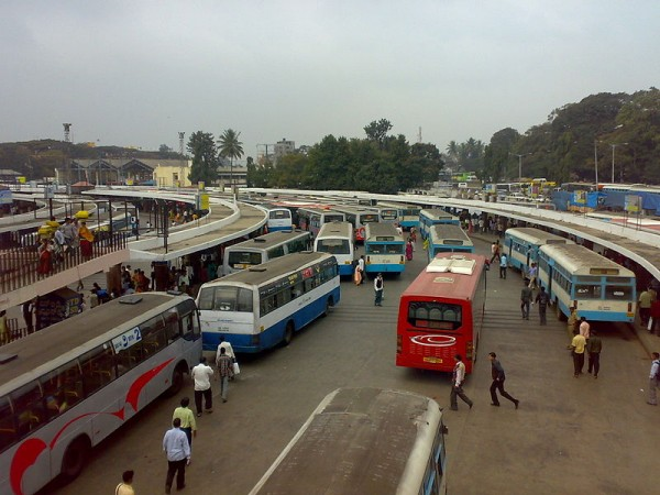 Bangalore Photos - Bus Stand