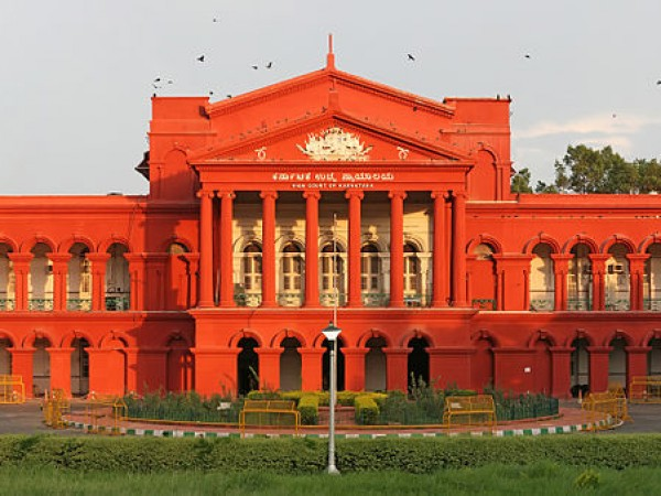 Bangalore Photos - Karnataka High Court -  Front View