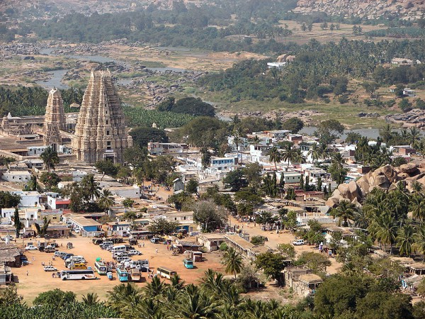 Hampi Photos - City view