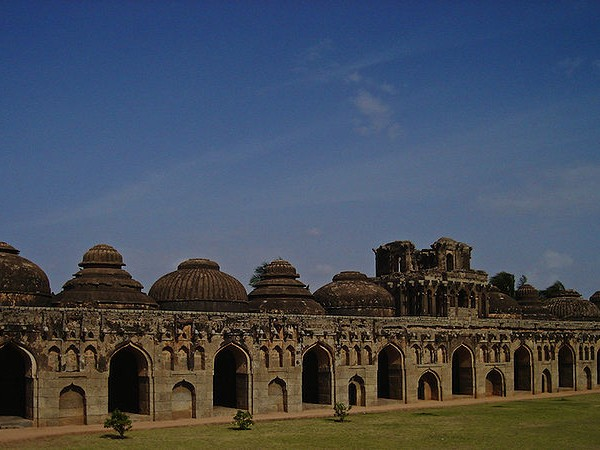 Hampi photos, Elephant Stables